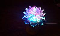 Световой диско шар-цветок LED Ball Light. Ночник RHD-21 ночник, световое шоу