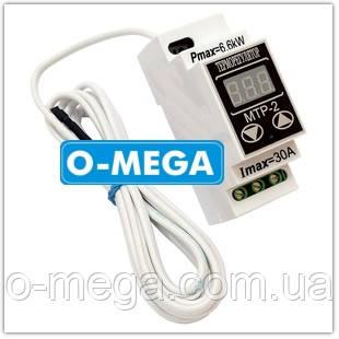 Терморегулятор МТР-2 (цифровой) 30А DigiCop DIN рейка