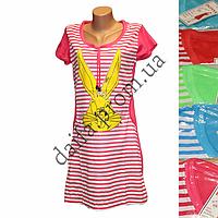 Женская котоновая ночная рубашка 15 оптом со склада в Одессе.