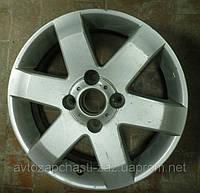 Литой диск GM 4 на Шевроле Эпика. Диск колеса Б/У Chevrolet EPICA R16 на шесть лучей 96639767, фото 1
