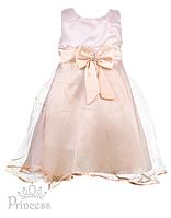 Бальное платье для девочки белое