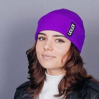 Фиолетовая шапка, фото 1