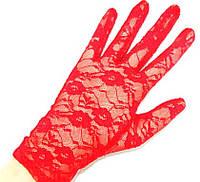 Короткие женские ажурные перчатки, перчатки закрытые. Разные цвет, размер универсальный.