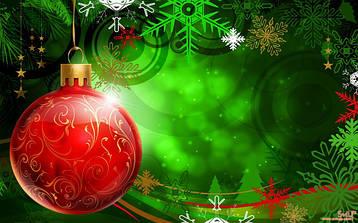 Кулі новорічні ялинкові