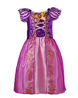 Карнавальное платье детское  Рапунцель для девочек