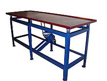 Вибростол для производства плитки и еврозаборов — «2УВ»