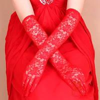 Длинные женские ажурные перчатки, перчатки закрытые. Разные цвет, размер универсальный.