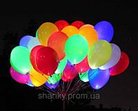 Светящиеся шары с гелием (30см)