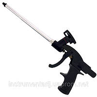 Пистолет для монтажной пены с тефлоновым покрытием иглы, трубки и держателя баллона + 4 нас.,INTERTOOL PT-0605