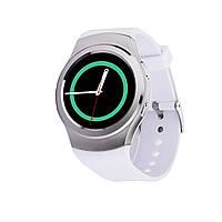 Умные часы No.1 G3 для iOS/Android (Smart watch) белые, пульсометр, шагомер, термометр, фото 1
