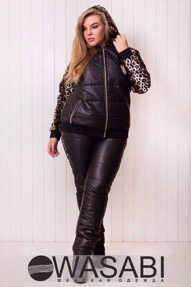 d09bdd3f Зимний женский спортивный костюм больших размеров