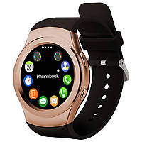 Умные часы No.1 G3 для iOS/Android (Smart watch) бронзовые, пульсометр, шагомер, термометр