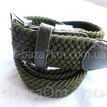 Унисекс ремень плетенка-резинка (Китай) — купить оптом в одессе 7км , фото 2
