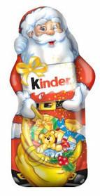 Шоколадные фигурки  Дед Мороз Kinder, 110 г + Сертификат соответствия