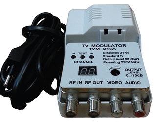 Модулятор  WinQuest TVM 210A