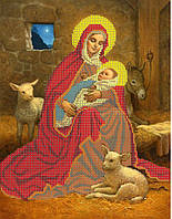 """Схема для вышивки бисером """"Рождение Христа"""""""