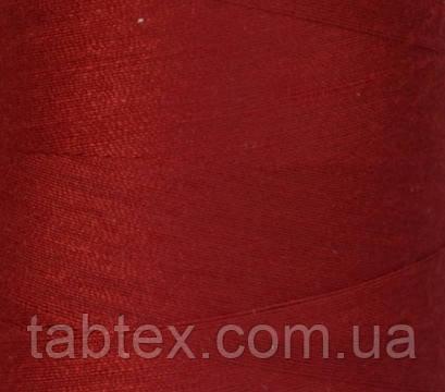 """Швейные нитки №40/2 """"LG"""" D120 4000 ярд(красный темн.)"""