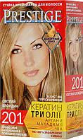 Стійка фарба для волосся vip's Prestige №201 Світлий Блонд