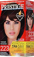 Стойкая краска для волос vip's Prestige №223 Темный махагон