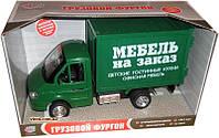 """Инерционная машинка Joy Toy Газель """"Мебель на заказ"""", 9077-B"""