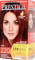 Стойкая краска для волос vip's Prestige №220 Рубин