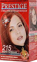 Стойкая крем краска Prestige №215 Медно красный