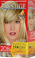 Стойкая краска для волос vip's Prestige №208 Жемчужный