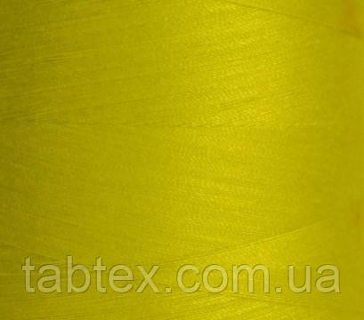 "Швейные нитки №40/2 ""LG"" D188 4000 ярд(желтый.)"