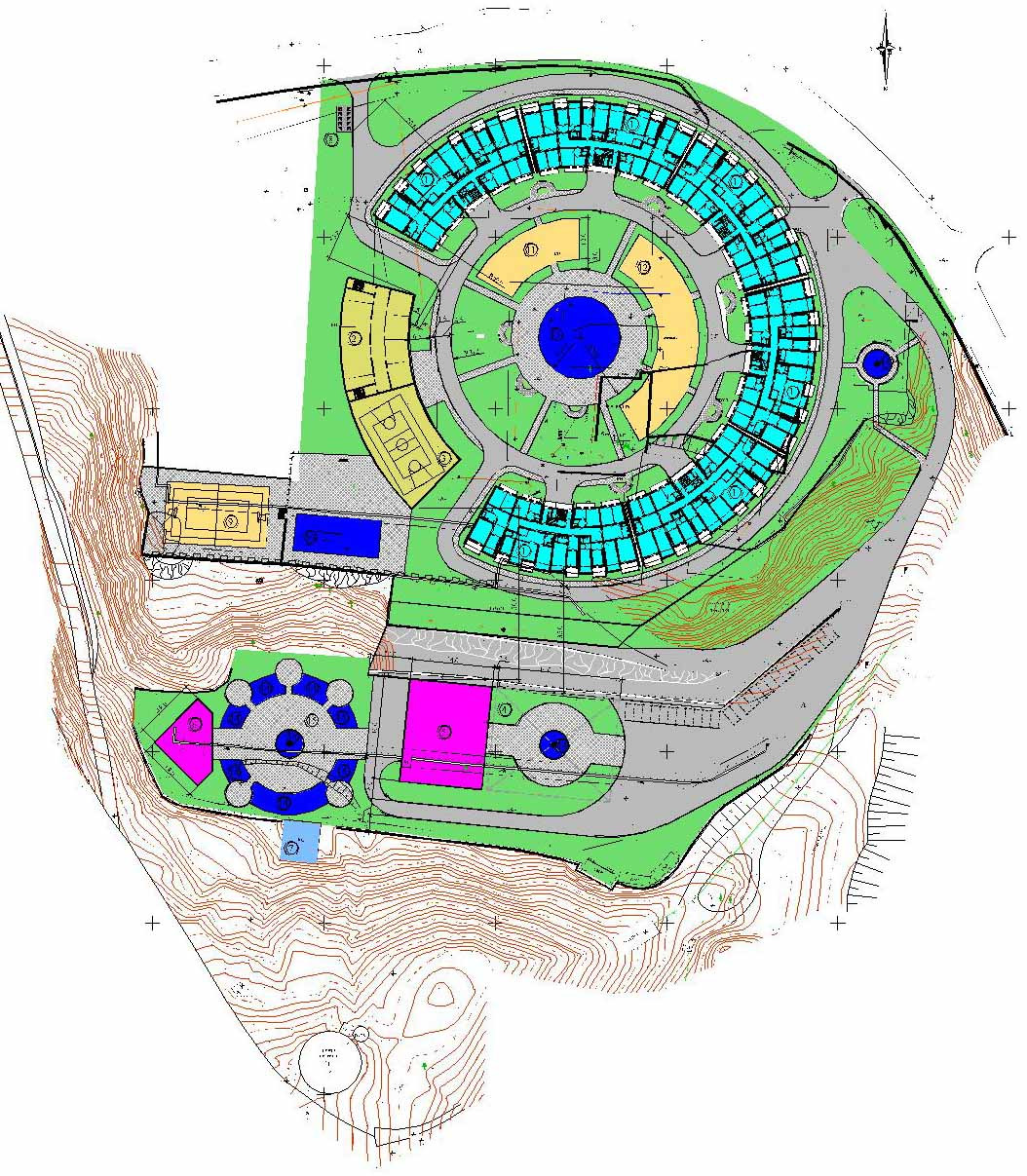 Градостроительный расчет, эскизный проект, проект генплана