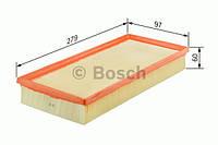 Фильтр воздушный Fiat Doblo 1.4 2001-->2011 Bosch (Германия) F 026 400 036
