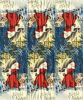 Редкая салфетка для декупажа Санта и ангел у окна 6419