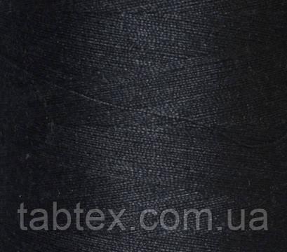 """Швейные нитки №40/2 """"МН"""" А 807 4000 ярд(темно т. синий.)"""
