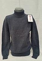 Вязаный свитер для мальчиков Шерстяной Udi kids синий
