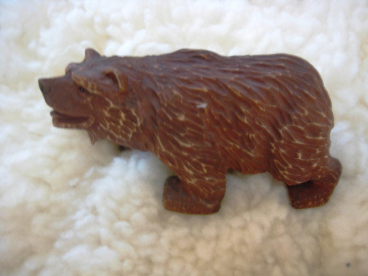 Девянная фигурка Медведь.