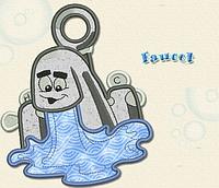 Полотенце с петелькой Кран с водой (40*70 для рук)