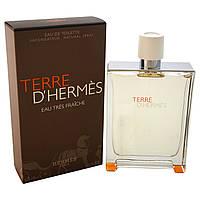 Hermes  Terre D`Hermes Eau Tres Fraiche 125ml  мужская туалетная вода