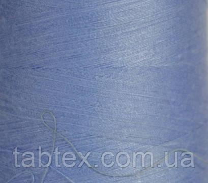 """Швейные нитки №40/2 """"LG"""" D491 4000 ярд(голубой.)"""
