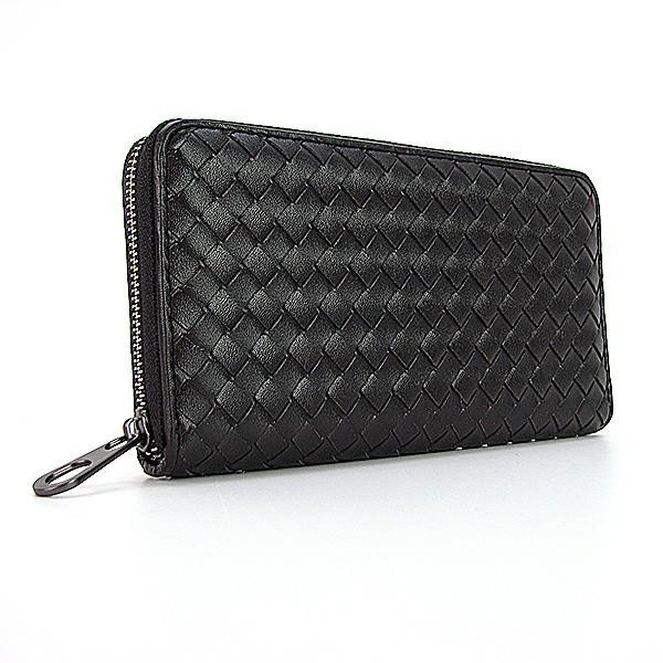 Плетеный кожаный женский кошелек Bottega Veneta  продажа, цена в ... e6ed5bb39f6