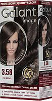 Стойкая крем-краска Galant №3.58 Пепельно-коричневый