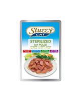 STUZZY Sterilized - с курицей для стерилизованих котов 100G