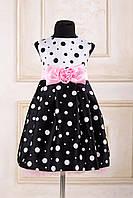 Нарядное платье для девочки 9707