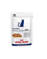 ROYAL CANIN Cat neutered weight balance упаковка 100 g