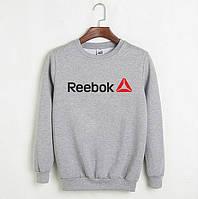 Свитшот Reebok серый