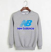 Свитшот New Balance серый реплика