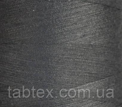 """Швейные нитки №40/2 """"LG"""" D525 4000 ярд(серый темн.)"""
