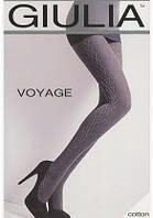 Женские колготки теплые с рисунком VOYAGE 180 MODEL 12