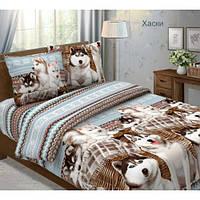Ткань для постельного белья бязь люкс Хаски