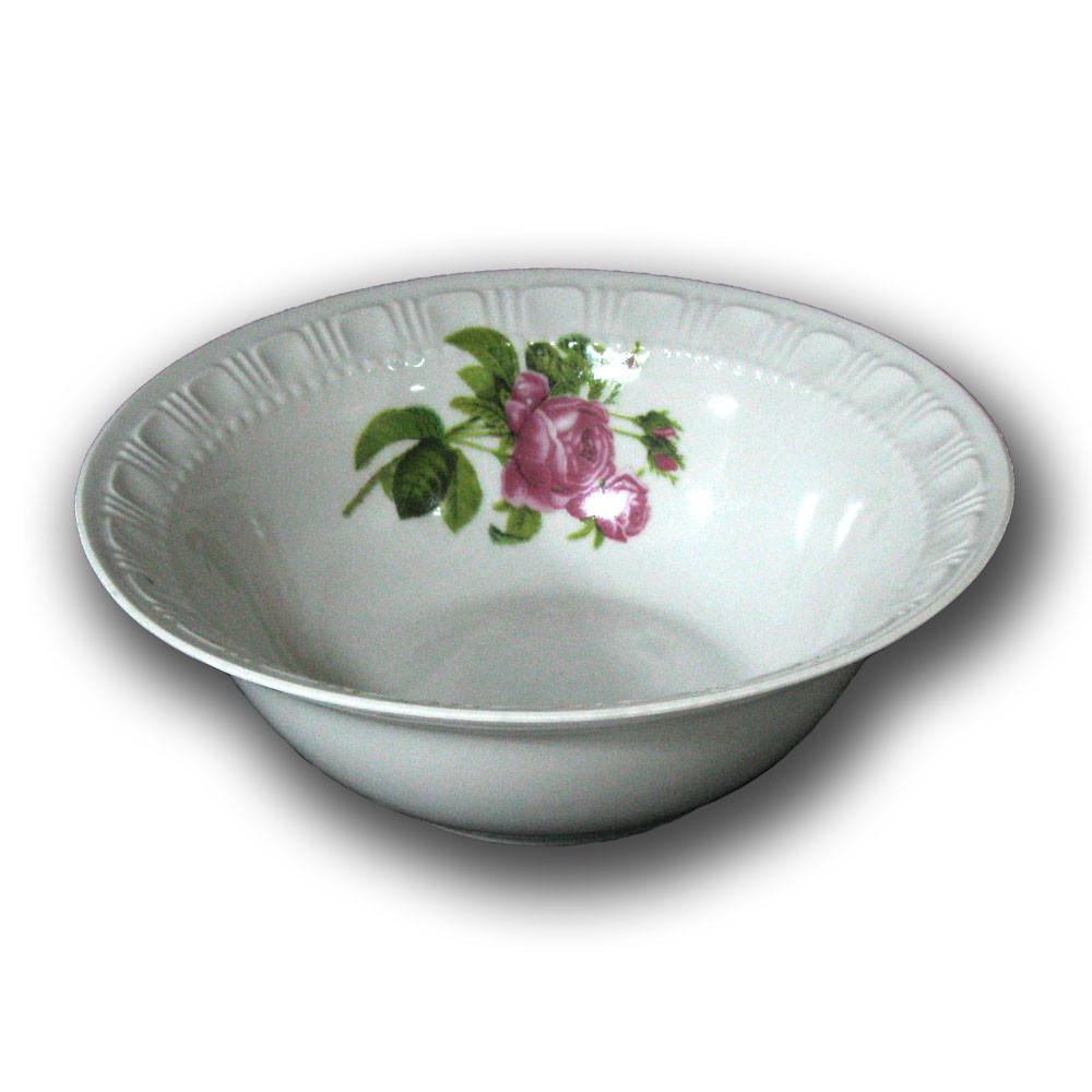 Салатник фарфоровый 1200мл. Роза Кавказа