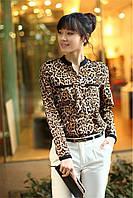 Женская рубашка-блуза Leo с длинным рукавом LIVA GIRL