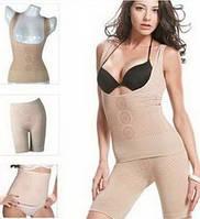 Био-керамическое белье для похудения Fir Slim, корректирующее белье Фир Слим набор (майка+пояс+шорты)